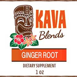 Happy Kava Ginger Tincture Blend