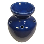 Ceramic Oil Burner (Eve Blue)