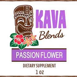 Happy Kava Passion Flower Tincture Blend