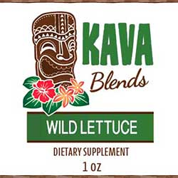 Happy Kava Wild Lettuce Tincture Blend