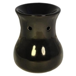 Ceramic Oil Burner (Kiva Black)