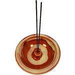 Shoyeido Incense Burner - Crimson